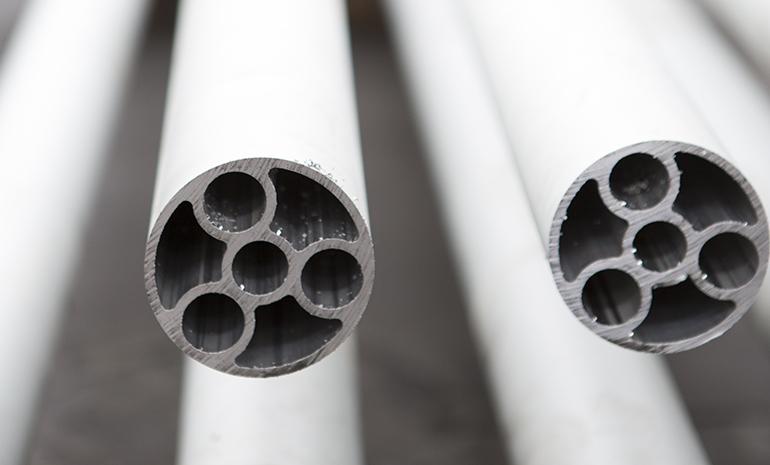Tubi alluminio in pressione - Tecnomecc